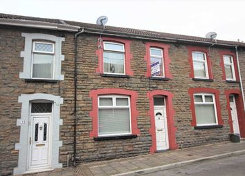 Thumbnail 3 bed terraced house for sale in Aldergrove Road, Porth