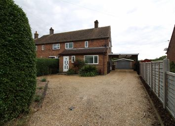 Thumbnail 3 bedroom semi-detached house for sale in Howe Lane, Poringland, Norwich