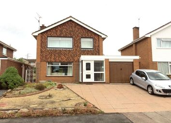 Thumbnail 3 bed detached house for sale in Leabank Drive, Worcester