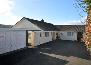 Thumbnail 4 bed detached bungalow for sale in Cheriton Fitzpaine, Crediton, Devon