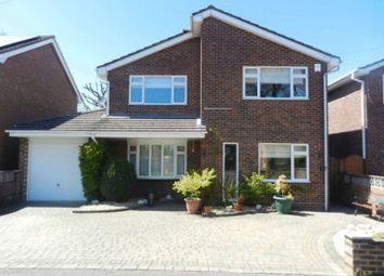 Thumbnail 4 bed detached house to rent in Plover Close, Stubbington, Fareham