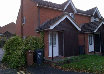 Thumbnail 1 bed flat to rent in Fells Close, Hitchin