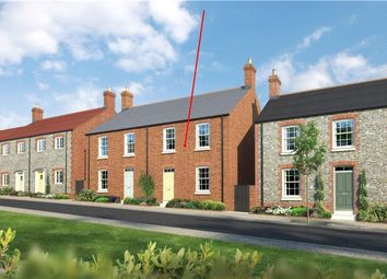 Thumbnail 3 bed semi-detached house for sale in Gallows Down Lane, Poundbury, Dorchester