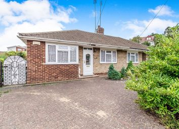 Thumbnail 2 bed bungalow for sale in Chartwell Close, Rochester