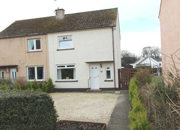 Thumbnail 2 bed semi-detached house for sale in Ash Grove, Dunbar, East Lothian