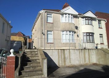 Thumbnail 3 bed semi-detached house for sale in Brynawel Crescent, Treboeth, Swansea, City & County Of Swansea.