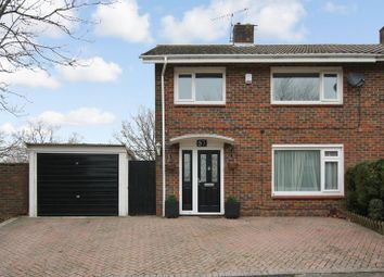 Thumbnail 3 bed semi-detached house for sale in Highams Hill, Gossops Green, Crawley