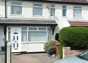 Thumbnail 3 bed terraced house to rent in Sergrim Road, Huyton, Liverpool