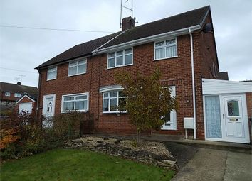 Thumbnail 3 bedroom semi-detached house to rent in Dryden Dale, Worksop, Nottinghamshire