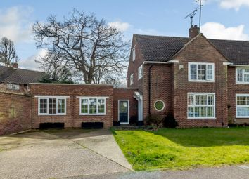Thumbnail 5 bed semi-detached house for sale in 1 Beehive Green, Welwyn Garden City, Herts