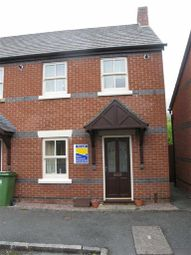 Thumbnail 2 bed end terrace house to rent in Glendower Court, Falstaff Street, Shrewsbury