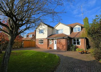 Thumbnail 4 bed detached house for sale in Blackberries Close, School Lane, Burghfield Common, Reading
