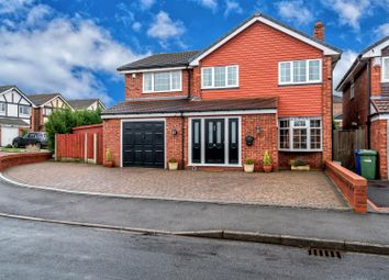 Thumbnail 4 bed detached house for sale in Sunfield Road, Shoal Hill, Cannock
