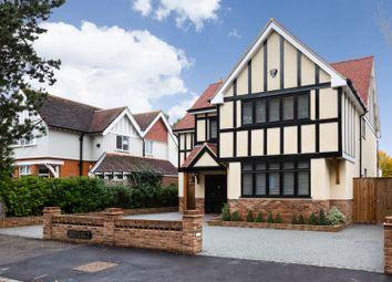 Thumbnail 5 bed detached house to rent in Hornbeam Lane, Sewardstonebury, London
