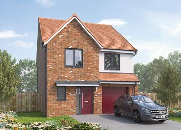 """Thumbnail 4 bedroom detached house for sale in """"The Holbury"""" at Vigo Lane, Chester Le Street"""