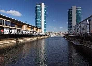 Thumbnail 1 bed flat for sale in Marina Point West, Dock Head Road, St Mary's Island
