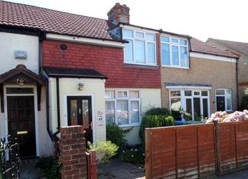 Thumbnail 2 bed terraced house to rent in Crescent Road, Fareham