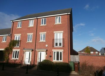 Thumbnail 4 bedroom town house to rent in Greenock Crescent, Wolverhampton
