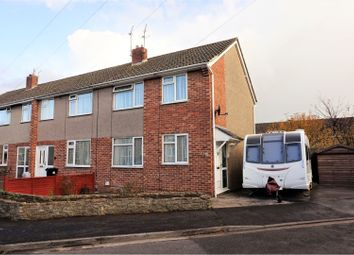 Thumbnail 3 bed end terrace house for sale in Corfe Crescent, Keynsham