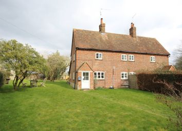 Thumbnail 2 bed semi-detached house to rent in Bromsden Cottages, Bix, Henley-On-Thames