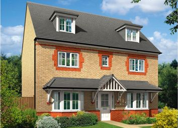 "Thumbnail 5 bedroom detached house for sale in ""Warwick"" at Saxon Court, Bicton Heath, Shrewsbury"