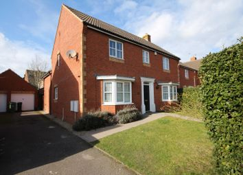 Thumbnail 4 bed detached house for sale in Newlands Avenue, Didcot