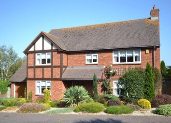 Thumbnail 4 bed detached house for sale in Stoneyford Park, Budleigh Salterton, Devon