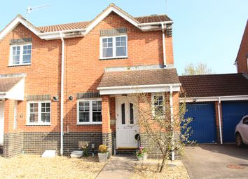 Thumbnail 2 bed semi-detached house for sale in Coleridge Road, Swindon