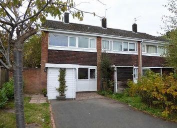 Thumbnail 3 bed terraced house for sale in Hinstock Close, Penn, Wolverhampton