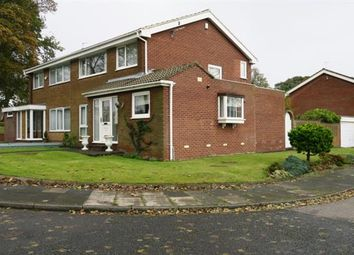 Thumbnail 3 bed semi-detached house for sale in Cleadon Meadows, Cleadon, Sunderland