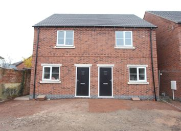 Thumbnail 2 bed semi-detached house for sale in Keats Lane, Earl Shilton, Leicester