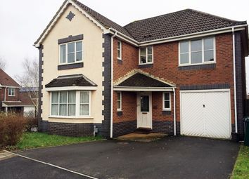 Thumbnail 4 bed detached house to rent in Scotney Way, Pontprennau, Cardiff