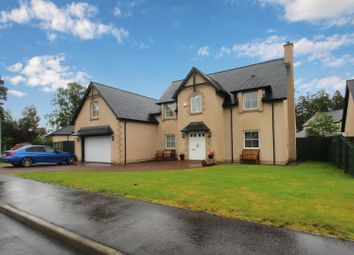 Thumbnail 5 bed detached house for sale in Macduff Way, Murthly, Perthshire