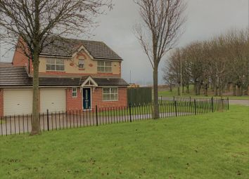 Thumbnail 4 bed detached house for sale in Balmoral Drive, Peterlee