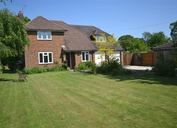 Thumbnail 4 bed detached house for sale in Burney Bit, Pamber Heath, Tadley