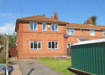 Thumbnail 4 bedroom end terrace house for sale in King George Close, Bromsgrove
