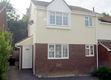 Thumbnail 1 bed semi-detached house to rent in Willow Rise, Downswood, Maidstone