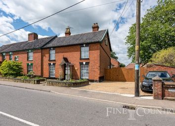 Thumbnail 3 bed semi-detached house for sale in The Green, Pulham Market, Diss