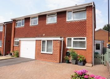 Thumbnail 3 bed semi-detached house for sale in Wilkinson Close, Sutton Coldfield