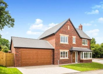 Thumbnail 4 bedroom detached house for sale in Kingfisher Way, Morda, Oswestry