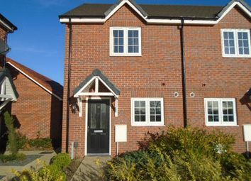 Thumbnail 2 bedroom semi-detached house to rent in Evans Croft, Shortstown, Bedford