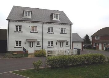 Thumbnail 4 bed town house to rent in The Squires, Pease Pottage, Crawley