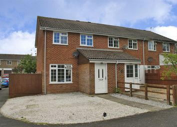 Thumbnail 3 bed semi-detached house for sale in Samber Close, Lymington, Hampshire