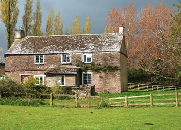 Thumbnail 4 bed farmhouse for sale in Walterstone, Herefordshire