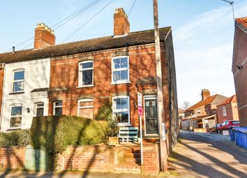 Thumbnail 2 bedroom end terrace house for sale in Bakers Road, Norwich