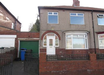Thumbnail 3 bed semi-detached house to rent in Hadrian Road, Fenham
