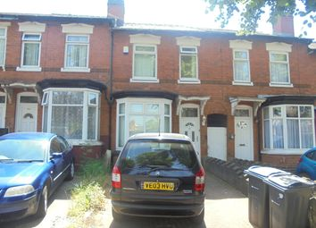 Thumbnail 3 bed terraced house to rent in Brandon Road, Hall Green
