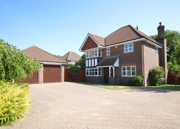 Thumbnail 4 bed detached house for sale in Heathside Place, Epsom