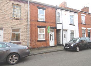 Thumbnail 2 bed terraced house for sale in Bentinck Street, Hucknall, Nottingham