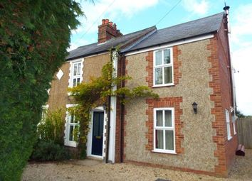 Thumbnail 3 bedroom semi-detached house for sale in Clenchwarton, King's Lynn, Norfolk